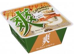 ロッテ 爽 キャラメルマキアート カップ185ml
