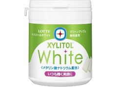ロッテ キシリトールホワイト グリーンアップル ボトル143g