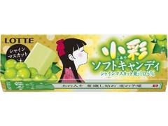 ロッテ 小彩ソフトキャンディ シャインマスカット 10粒