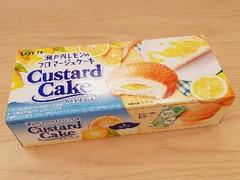 ロッテ カスタードケーキ 瀬戸内レモンのフロマージュケーキ 箱6個