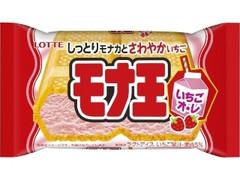 ロッテ モナ王 いちごオ・レ 袋160ml