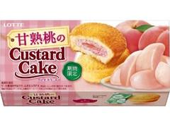 ロッテ 甘熟桃のカスタードケーキ 箱6個