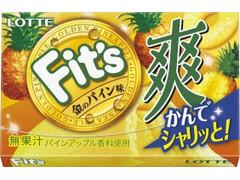 ロッテ Fit's 爽 金のパイン味