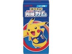 ロッテ ピカチュウ円陣ガム ソーダ味 箱10粒