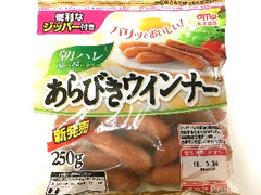 丸大食品 朝ハレ あらびきウィンナー 袋250g