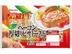 丸大食品 朝ハレ ベーコン厚切りピザトースト 袋4枚