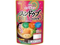 丸大食品 オルチャンスンドゥブ ごま豆乳味 袋220g
