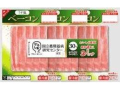 丸大食品 うす塩ベーコン パック4枚×3