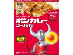大塚食品 ボンカレーゴールド 辛口 ウルトラマン特別パッケージ 箱180g