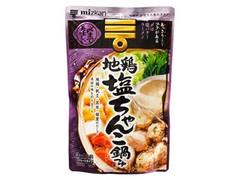 ミツカン 〆まで美味しい 地鶏塩ちゃんこ鍋つゆ