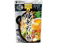 ミツカン 〆まで美味しい 焼あごだし鍋つゆ ストレート 袋750g