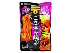 ミツカン 〆まで美味しい ごま担々鍋つゆ ストレート 袋750g
