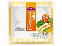 トップバリュ 4種のチーズクリームはんぺん 袋4個