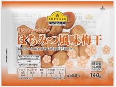 トップバリュ ベストプライス 甘くて食べやすい はちみつ風味梅干 袋140g