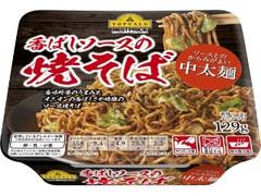 トップバリュ ベストプライス ソースとのからみがよい中太麺 香ばしソースの焼そば カップ129g