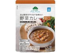 トップバリュ グリーンアイ Free From 豆と野菜のマイルドな味わい 野菜カレー 甘口 袋200g