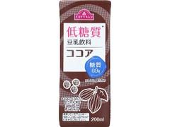 トップバリュ 低糖質 豆乳飲料 ココア パック200ml