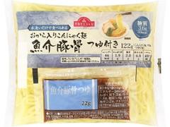 トップバリュ 水洗いだけで食べられる おから入りこんにゃく麺 魚介豚骨つゆ付き 袋122g