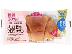 トップバリュ 糖質30%オフ 大豆粉入りクロワッサン パネトーネ種使用 袋1個