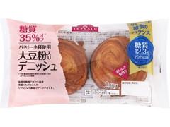 トップバリュ 糖質35%オフ 大豆粉入りデニッシュ パネトーネ種使用 袋2個