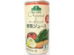 トップバリュ グリーンアイ オーガニック野菜ジュース 缶190g
