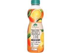 トップバリュ グリーンアイ オーガニックオレンジジュース ストレート果汁100% ペット750ml