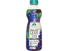 トップバリュ グリーンアイ オーガニックグレープジュース ストレート果汁100% ペット750ml