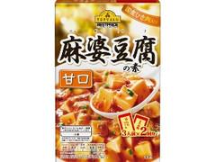 トップバリュ ベストプライス 麻婆豆腐の素 甘口 箱146.4g
