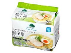 トップバリュグリーンアイ 柚子塩ラーメン 袋93g×5
