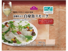 トップバリュ 冷燻仕立て白身魚スモーク ビネグレットドレッシング入り 袋108.4g