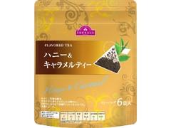 トップバリュ FLAVORED TEA ハニー&キャラメルティー 袋2g×6