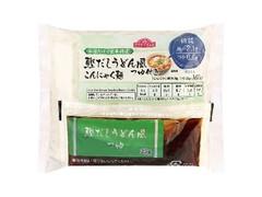 トップバリュ お湯だけで簡単調理 鰹だしうどん風こんにゃく麺 つゆ付き 袋165g