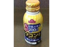 トップバリュ 肝臓エキス配合 ウコン入りドリンク 缶100ml