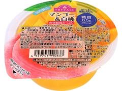 トップバリュ 国内製造 マンゴー&白桃 カップ180g