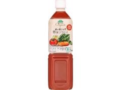 トップバリユ グリーンアイ オーガニック 野菜ジュース 食塩不使用 ペット900g