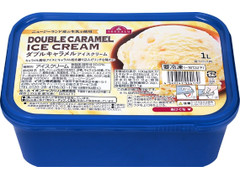 トップバリュ ニュージーランド産の生乳を使用 ダブルキャラメルアイスクリーム
