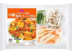 トップバリュ CooKit ピリ辛キムチ風味 豚肉とキャベツ炒め まるごと献立キット