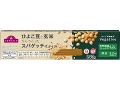 トップバリュ ひよこ豆と玄米からつくった スパゲッティタイプ 太さ1.8mm ゆで時間11分
