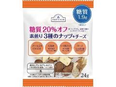 トップバリュ 糖質20%オフ 素煎り3種のナッツ+チーズ
