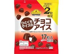 トップバリュ ベストプライス ひとくちサイズのチョコアイス
