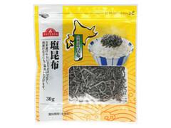 トップバリュ 塩昆布 北海道産昆布 袋30g