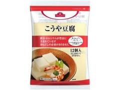 トップバリュ こうや豆腐 袋12個