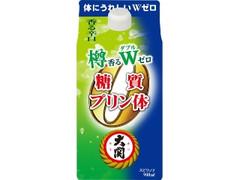 大関 樽香る糖質プリン体Wゼロ