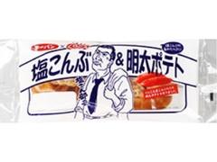 第一パン くらこん 塩こんぶ&明太ポテト 袋1個