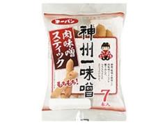 第一パン 肉味噌スティック 神州一味噌 7本入 袋7個