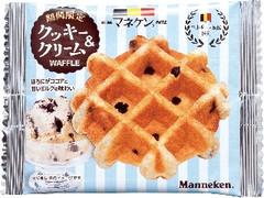 マネケン クッキー&クリームワッフル 袋1個