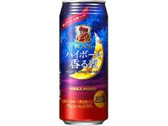 ニッカ ブラックニッカ ハイボール香る夜 缶500ml