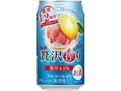 アサヒ 贅沢搾り グレープフルーツ 350ml
