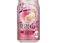 アサヒ 贅沢搾り 桃 350ml