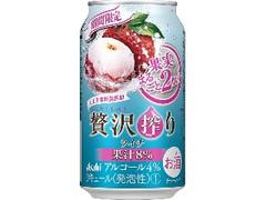アサヒ 贅沢搾り ライチ 缶350ml